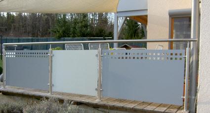 terrassengel nder sichtschutz gel nder f r au en. Black Bedroom Furniture Sets. Home Design Ideas
